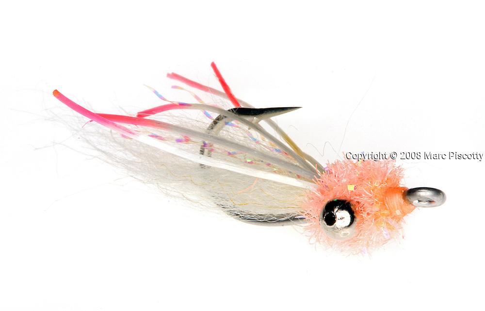 SHOT 4/29/08 1:20:32 PM - 2008 Umpqua Feather Merchants flies..(Photo by Marc Piscotty / © 2008)