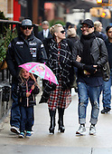 Pink and family out in New York