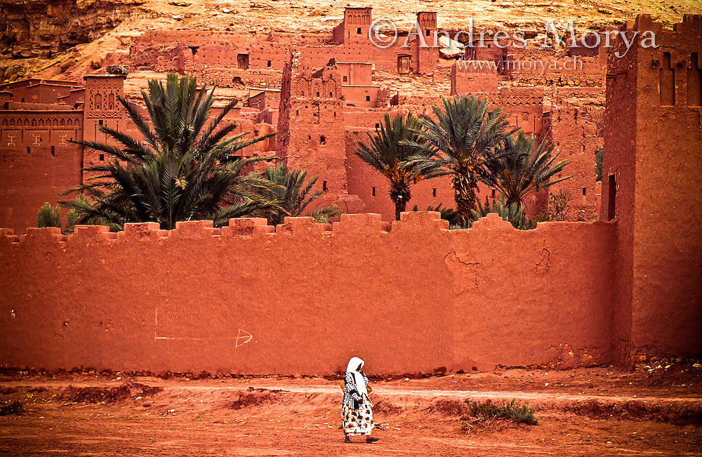 Kasbah Ait Benhaddou , Ouarzazate , Morocco Image by Andres Morya