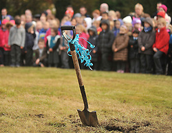 Shovel Ready....... the new Scoil Padraig development will start in November.<br /> Pic Conor McKeown