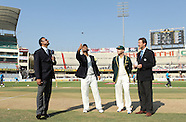 Cricket - India v Australia 2nd Test Hyderabad
