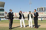 Cricket - India v Australia 2nd Test Day1 Hyderabd