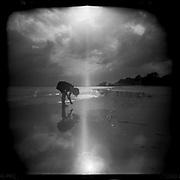 St. Simons Island - Holga 120/Ilford Film
