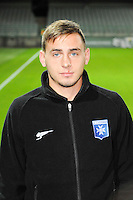Ruben AGUILAR - 31.10.2014 - Auxerre / Brest - 13eme journee Ligue 2<br />