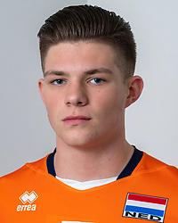 21-12-2018 NED: Photoshoot selection of Orange Young Boys, Arnhem <br /> Orange Young Boys 2018 - 2019 / Stijn de Ruijter #5