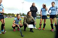 NIJMEGEN - 2017 Hoofdklasse dames<br /> Nijmegen v Hurley<br /> Foto: Matthijs Brouwer <br /> WORLDSPORTPICS COPYRIGHT FRANK UIJLENBROEK