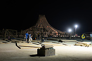 At night. My Burning Man 2018 Photos:<br />