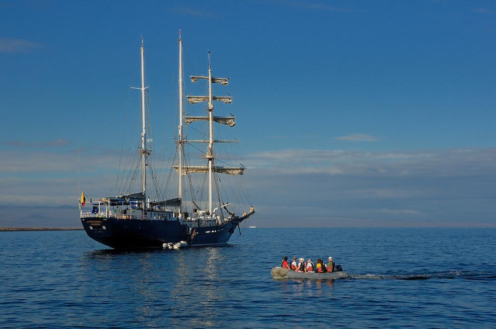 Cruise Boats, Santa Cruz Island, Galapagos Islands, Ecuador