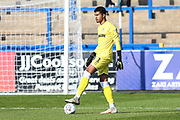 Forest Green Rovers goalkeeper Robert Sanchez(1) during the EFL Sky Bet League 2 match between Macclesfield Town and Forest Green Rovers at Moss Rose, Macclesfield, United Kingdom on 29 September 2018.