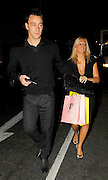 08.NOVEMBER.2007. LONDON<br /> <br /> JOHN TERRY AND TONI POOLE LEAVING THE FLAWLESS &amp; CO SHOP LAUNCH PARTY.<br /> <br /> BYLINE: EDBIMAGEARCHIVE.CO.UK<br /> <br /> *THIS IMAGE IS STRICTLY FOR UK NEWSPAPERS AND MAGAZINES ONLY*<br /> *FOR WORLD WIDE SALES AND WEB USE PLEASE CONTACT EDBIMAGEARCHIVE - 0208 954 5968*