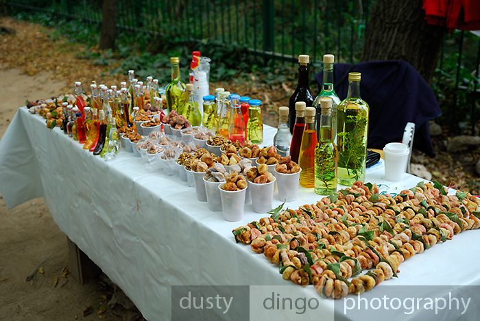 Produce for sale, Krka National Park, Croatia