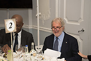 BAZ BAMBIGBOYE, SID GANIS, The Academy Museum of Motion Pictures hosts a lunch and press briefing about the Museum's<br /> 2019 opening in Los Angeles. The Dorchester<br /> Park Lane,  London. 10 December 2018