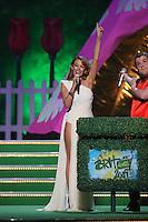 James Corden and Kylie Minogue