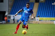 Peterborough United forward Omar Bogle (26) during the EFL Sky Bet League 1 match between Peterborough United and Southend United at London Road, Peterborough, England on 3 February 2018. Picture by Nigel Cole.