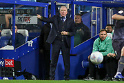 Queens Park Rangers Manager Steve McClaren gestures during the EFL Sky Bet Championship match between Queens Park Rangers and Sheffield Wednesday at the Loftus Road Stadium, London, England on 23 October 2018.