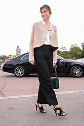 Julie Gayet attending the Hermes Fashion Show at Trocadero during Paris Fashion Week Spring Summer 2018 held in Paris, France on October 2, 2017. Photo by Julien Reynaud/APS-Medias/ABACAPRESS.COM