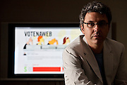Belo Horizonte_MG, Brasil...Site Voto na Web. Na foto seu fundador...Voto na Web. In the photo the founder. ..Foto: JOAO MARCOS ROSA / NITRO.