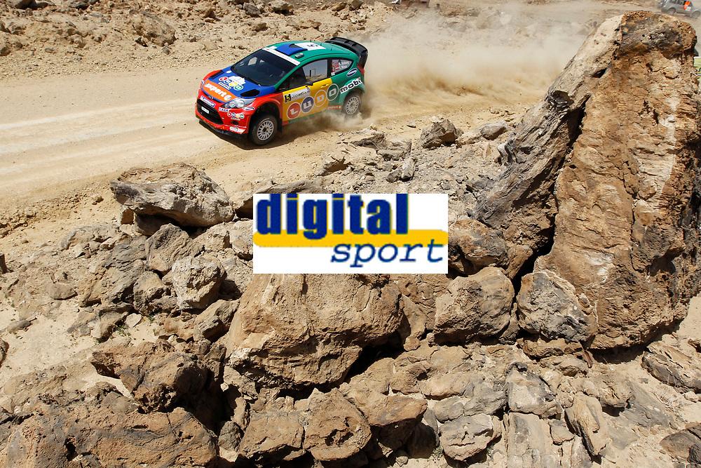 MOTORSPORT - WRC 2011 - JORDAN RALLY - 14 TO 16/04/2011 - DEAD SEA (JOR) - PHOTO : FRANCOIS BAUDIN / DPPI - <br /> 05 HENNING SOLBERG (NOR) / ILKA MINOR (AUT) - FORD FIESTA RS WRC - M-SPORT STOBART FORD WORLD RALLY TEAM - ACTION