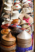 Colorful Asian Conical Hats