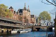 Amsterdam Centraal, Hauptbahnhof, Amsterdam, Holland, Niederlande