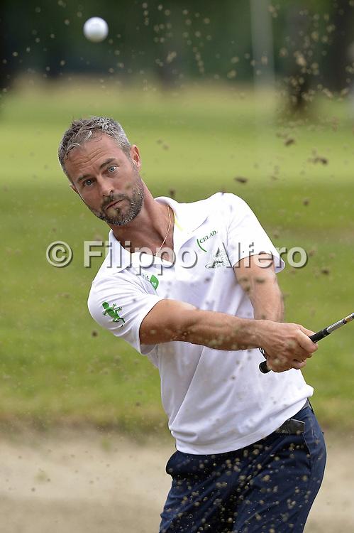&copy; Filippo Alfero<br /> Fondazione Vialli e Mauro Golf Cup XII edizione<br /> 08/06/2015, Borgomanero (TO), Golf Club Royal Park I Roveri<br /> Nella foto: Flavio Montrucchio