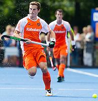 UTRECHT -  van Oranje ,zaterdag tijdens de  hockey interland tussen de mannen van Nederland en Duitsland (4-2). COPYRIGHT KOEN SUYK