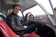 Jerry Seinfeld and Porsche 550-003, California, America west coast