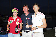 Anne Haeger and Briana Provancha, 3rd Place, 470 Nationals (Women's division)