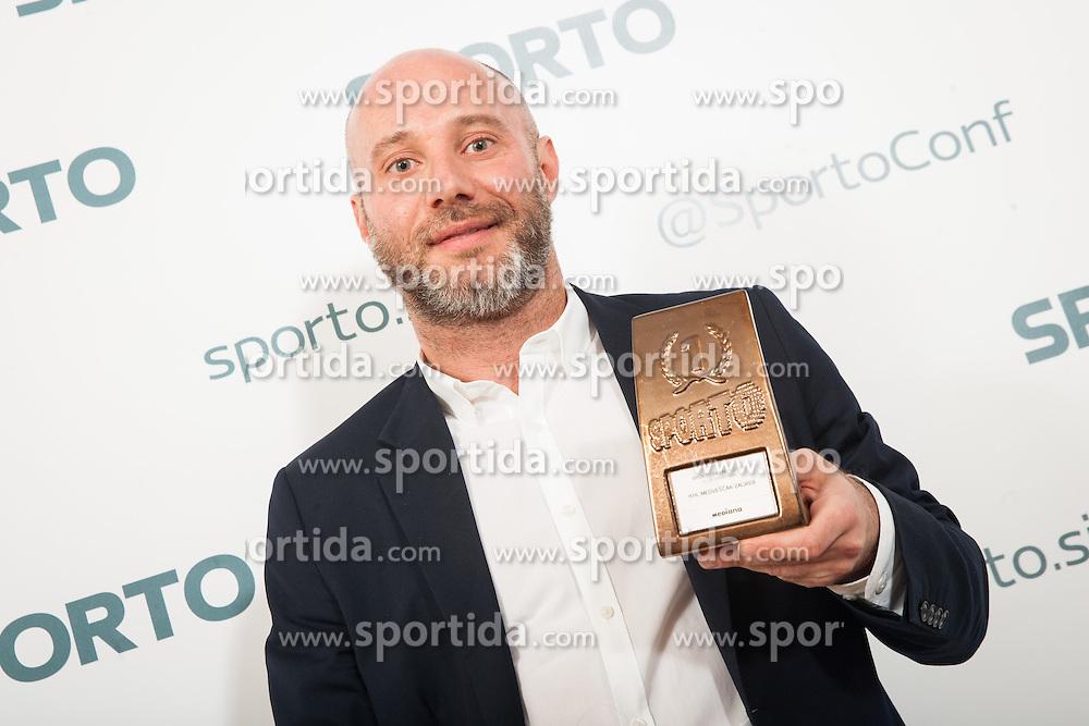 Ranko Vucinic (KHL Medvescak communications) during Sports marketing and sponsorship conference Sporto 2015, on November 19, 2015 in Hotel Slovenija, Congress centre, Portoroz / Portorose, Slovenia. Photo by Vid Ponikvar / Sportida
