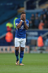 Leicester City's Liam Moore - Photo mandatory by-line: Nigel Pitts-Drake/JMP - Tel: Mobile: 07966 386802 14/12/2013 - SPORT - Football - Leicester - King Power Stadium - Leicester City v Burnley - Sky Bet Championship