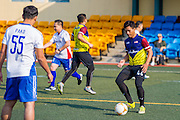 Action shot during the Training Session for  AIA Championship 2017 at Hong Kong Football Club on March 02, 2017 in Hong Kong. <br /> (Photo by Tommy Tang via MozImages)