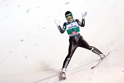 24.11.2017, Nordic Arena, Ruka, FIN, FIS Weltcup Ski Sprung, Nordic Opening, Kuusamo, Jernej Damjan of Slovenia during the FIS Ski jumping World Cup of the Nordic Opening at the Nordic Arena in Ruka, Finland on 2017/11/24. Sportida © 2017, PhotoCredit: JFK