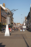 The high street shopping area, Lowestoft, Suffolk, England