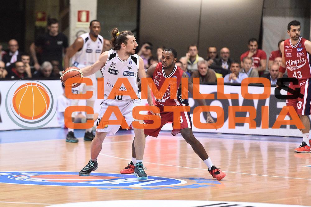 Milano 10.05.2016<br /> Basket Serie A - Playoff Gara 2<br /> EA7 Emporio Armani Milano - Dolomiti Energia Trento<br /> <br /> Nella foto: Toto Forra