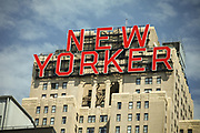 New Yorker sign. NYC 2011