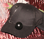 A ball cap for the groom at the themed wedding of Tonya Landess and Mike Oberer, in the Gothic Cloister of the Dayton Art Institute, Saturday, October 13, 2007.