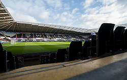 General view inside the Liberty stadium.  - Mandatory by-line: Alex James/JMP - 14/01/2017 - FOOTBALL - Liberty Stadium - Swansea, England - Swansea City v Arsenal - Premier League