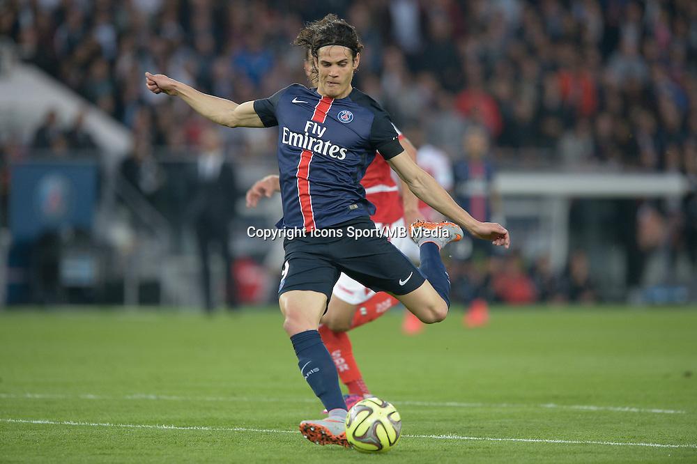 But Edinson Cavani - 23.05.2015 - PSG / Reims - 38eme journee de Ligue 1<br />Photo : Andre Ferreira / Icon Sport
