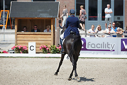 Van Der Kaaij Emma, (NED), Liebling<br /> Equine MERC Young Riders Team Test<br /> Dutch Championship Dressage - Ermelo 2015<br /> © Hippo Foto - Dirk Caremans<br /> 17/07/15