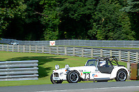 #73 Trevor Harber Caterham 7 Classic 1600 during the Caterham Graduates Championship - Super / Classic Classes at Oulton Park, Little Budworth, Cheshire, United Kingdom. August 06 2016. World Copyright Peter Taylor/PSP.