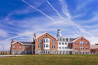 Exterior image of the Edward St. John Student Center at McDonogh School by Jeffrey Sauers of Commercial Photographics, Architectural Photo Artistry in Washington DC, Virginia to Florida and PA to New England
