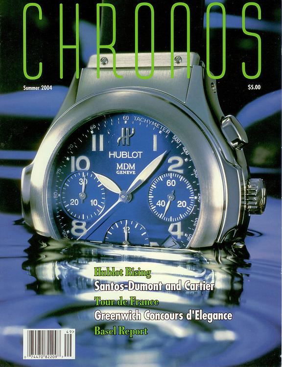 Magazine Cover - Chronos Hublot Watch