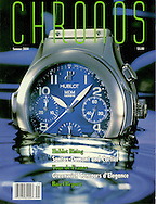 Magazine Cover - Chronos Hublot Watch