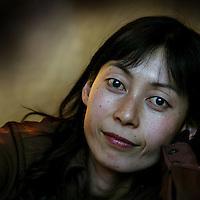 Nederland. Amsterdam. 30 oktober 2003..Yumiko Takeshima, balletdanseres en kledingontwerpster.