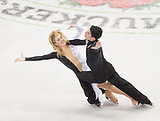 Nov 15, 2009: Kimberly Navarro and Brent Bommentre of The United States skate in the Ice Dance Free Dance at Skate America 2009 at the Herb Brooks Arena in Lake Placid, N.Y. (ORDA Photo /Todd Bissonette)