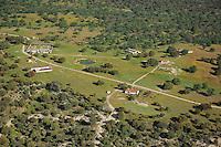 Aerial image<br /> Campanarios de Azába reserve,  Salamanca Region, Castilla y León, Spain