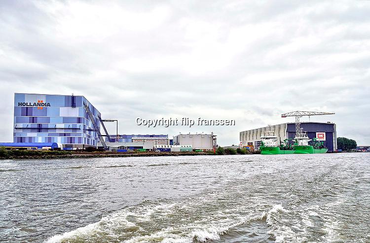 Nederland, the Netherlands, Rotterdam, 29-7-2017Hal van scheepswerf.Hollandia en IHC MerwedeFoto: Flip Franssen