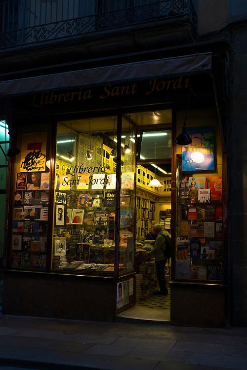 LLibreria Sant Jordi, Barcelona book shop on Carrer Ferran.