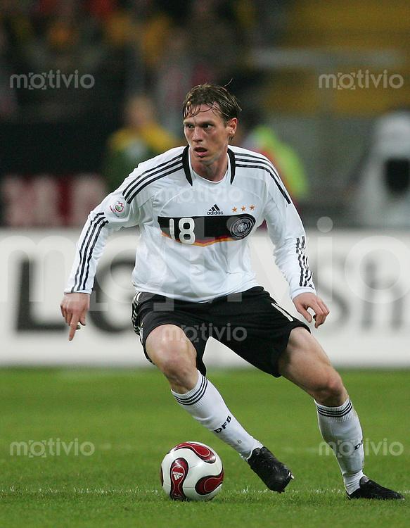 21.11.07 EM Qualifikation Deutschland - Wales Tim BOROWSKI (GER).