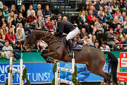 BELETSKIY Vladimir (RUS), Chas Pik<br /> Leipzig - Partner Pferd 2020<br /> Championat von Leipzig<br /> Springprfg. mit Stechen, international<br /> Höhe: 1.50 m<br /> 18. Januar 2020<br /> © www.sportfotos-lafrentz.de/Stefan Lafrentz